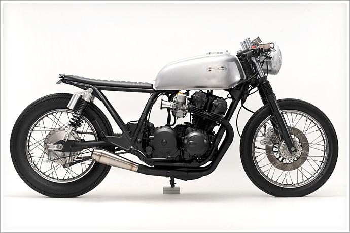 "Steel Bent Custom's '81 Honda CB750 -""Janica"""