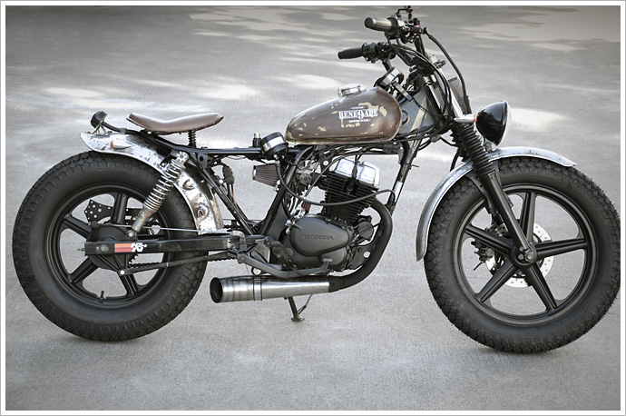 1992 Honda CB250 - Rene9ade Custom Motorcycles