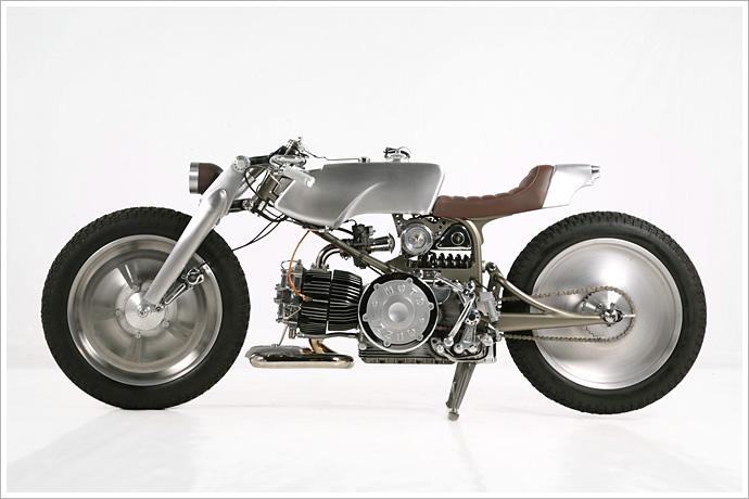 Moto Guzzi Nuovo Falcone - Medaza Cycles