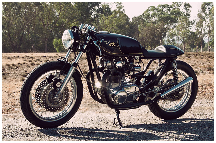 Yamaha XS650 - Kott Motorcycles