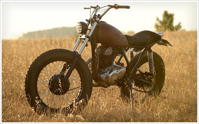 '81 Yamaha SR 250 - La Raíz Motorcycles