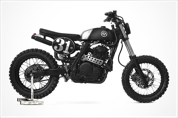 '91 Honda Dominator - Anvil Motociclette