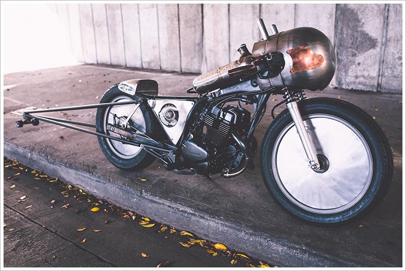 Honda CB250 - 'The Nut Buster'