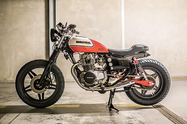 80 Honda CB400 TJASIN Motorcycles