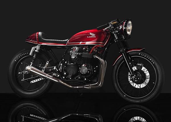 1977 Honda CB550 'Aldo' by Lossa Engineering