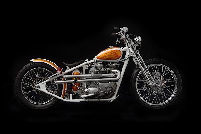 1969 Triumph Bonneville by Origin8or Cycles