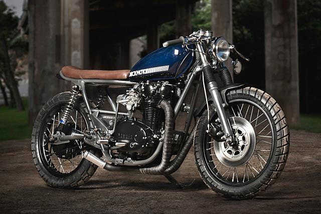 Yamaha XS650 - Kick Moto - Pipeburn com