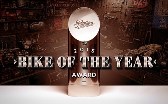 Pipeburn's 2015 Bike of the Year Award