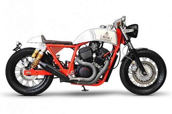 Honda VRX 400 – Custom Bike World