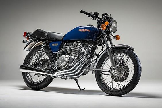 '77 Honda CB400F – Ellaspede