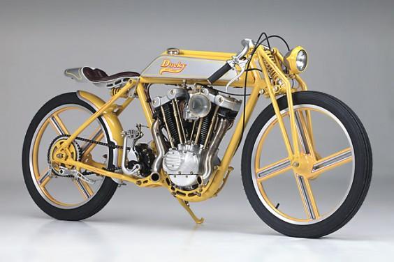 The 'Ducky' Harley Ironhead – Yuri Shif Customs