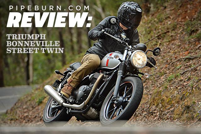 Review 2016 Triumph Bonneville Street Twin Pipeburncom
