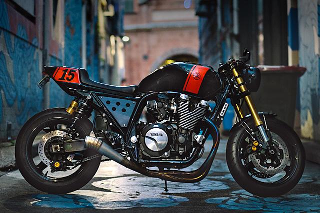 Yamaha XJR 1300 – Dave Zieglmeier