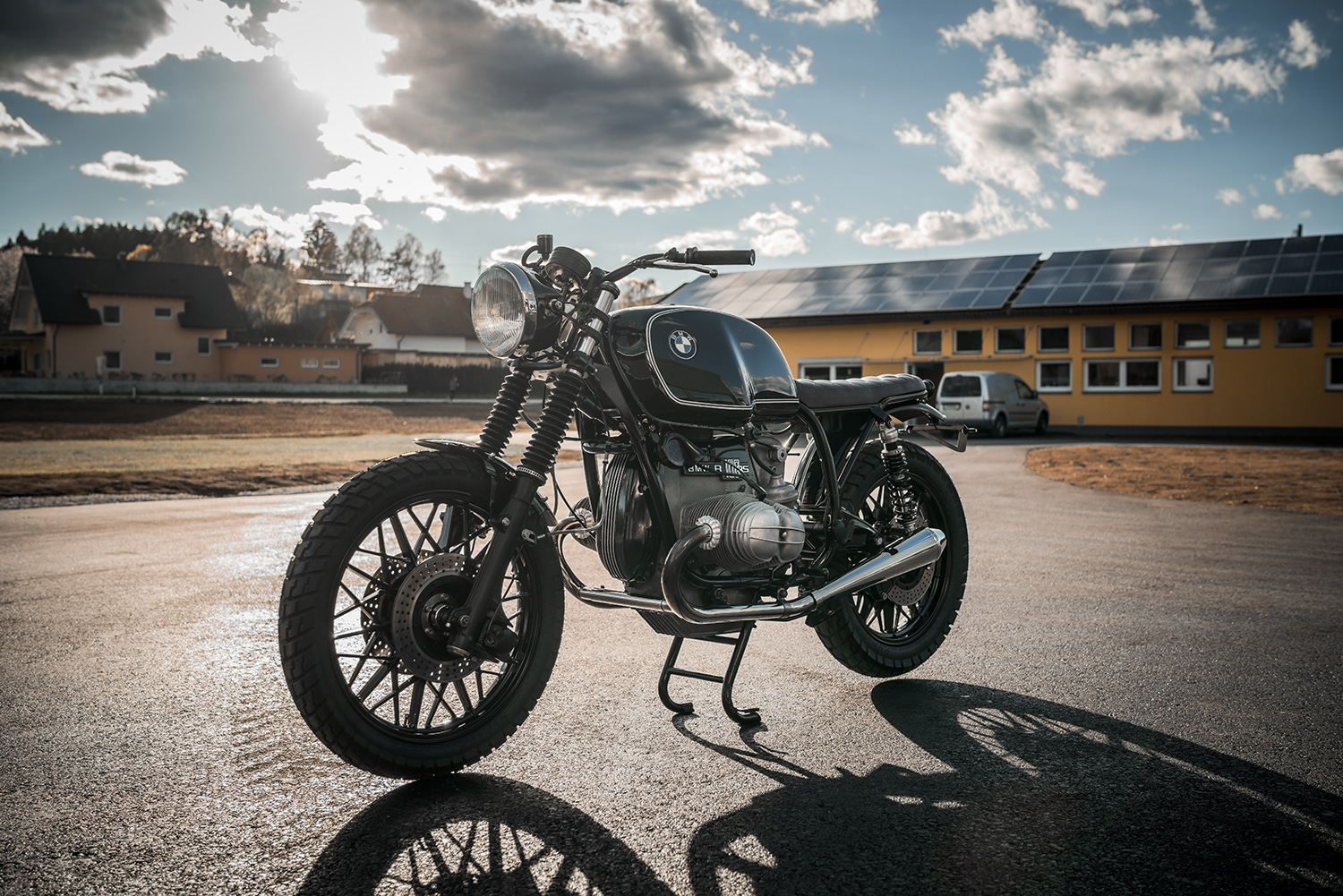 The Crow Bmw R100rs Nct Motorcycles Pipeburn Com