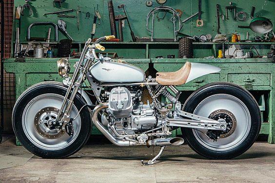 Moto Guzzi V9 'Silver Knight' – OMT Garage