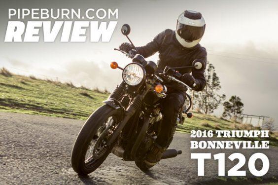 Review: 2016 Triumph Bonneville T120