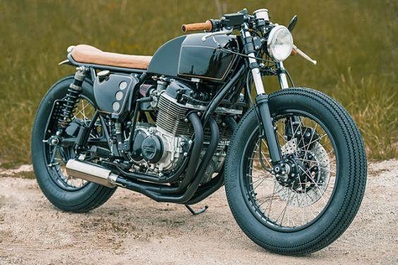 'Black & Tan' Honda CB750 – Analog Motorcycles