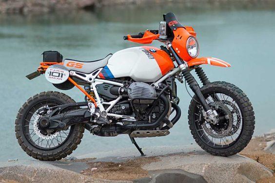 'Lac Rose' RnineT – BMW Motorrad