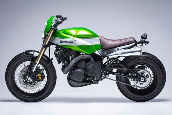 ?Urban X? Kawasaki Ninja 650 – Smoked Garage