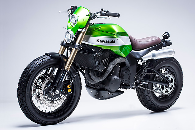 urban x' kawasaki ninja 650 - smoked garage - pipeburn