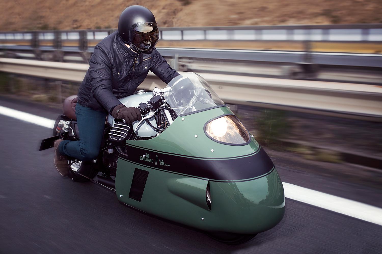 Moto Guzzi \'Vanguard V8 Racer\' – Numbnut Motorcycles - Pipeburn.com