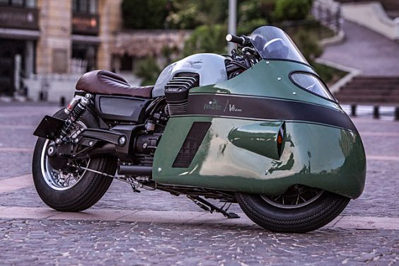 Moto Guzzi 'Vanguard V8 Racer' – Numbnut Motorcycles