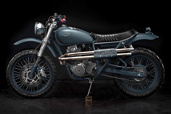 '07 Honda CB400SS – Butcher Garage