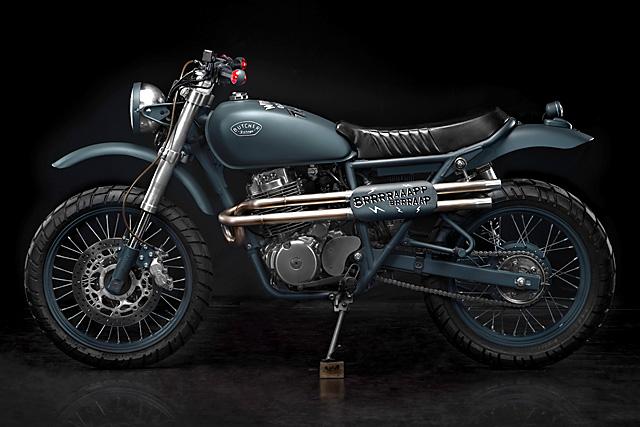 07 Honda CB400SS Butcher Garage
