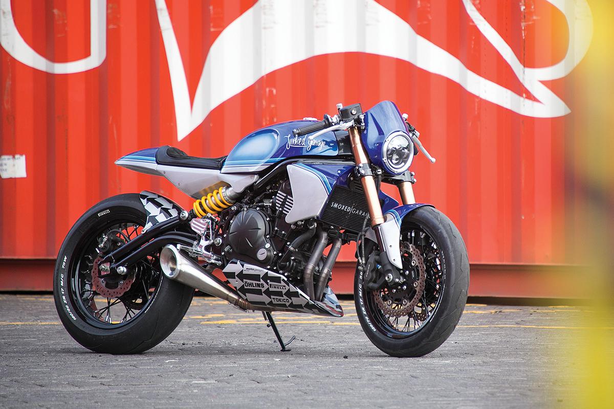 Sublime Kawasaki Ninja 650 Smoked Garage Pipeburncom