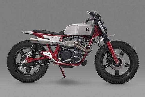"""Balfour"" CL650-FOUR Scrambler – Thrive Motorcycles"
