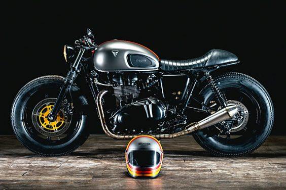 '11 Triumph Bonneville – Wojtek Borecki