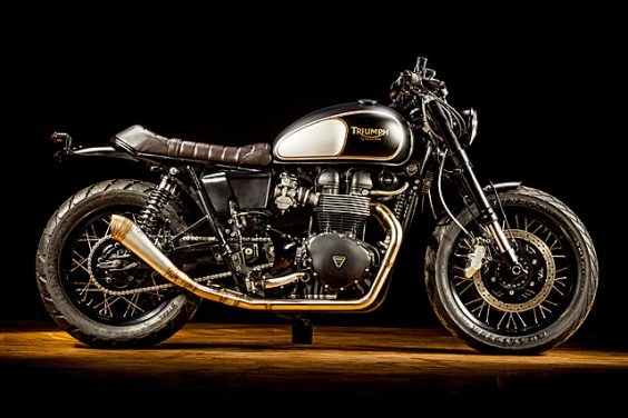 'Heartbreaker' Triumph Bonneville – Macco Motors