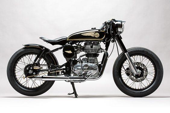 'Brass Rajah' Royal Enfield 350 – Mid Life Cycles