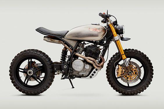 'Movember XL' Honda XL600R –Classified Moto