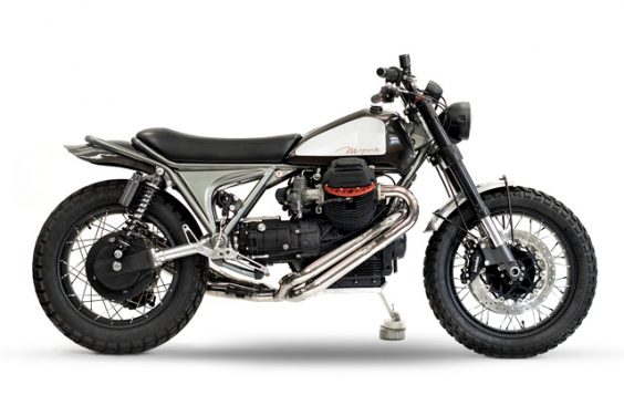 'MagmaMille'Moto Guzzi SP1000 – Officine Rossopuro