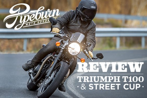 Review: 2017 Triumph Street Cup and T100
