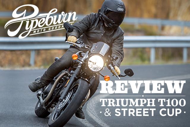Review: 2017 Triumph T100 & Street Cup