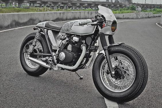'Rōnin' Honda CB200 – Minority Custom Motorcycles
