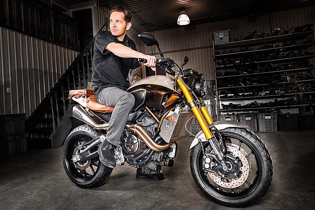 2016 Fz 07 >> '60/40' Yamaha MT-07 Scrambler - Origin8or Cycles - Pipeburn.com