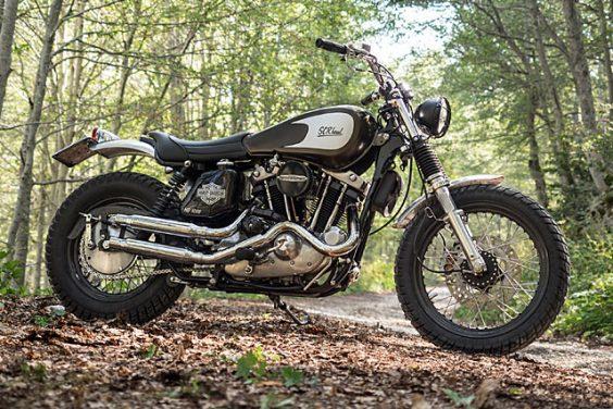 'SCRHead' Harley Davidson Scrambler – Officine Rossopuro