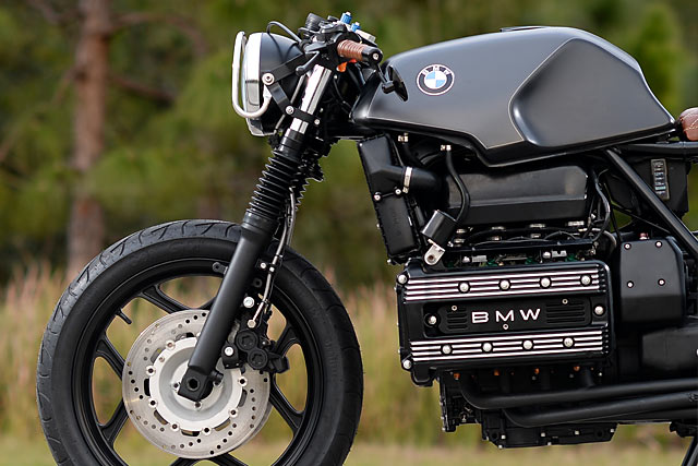 bmw k100rs cafe racer - hageman motorcycles