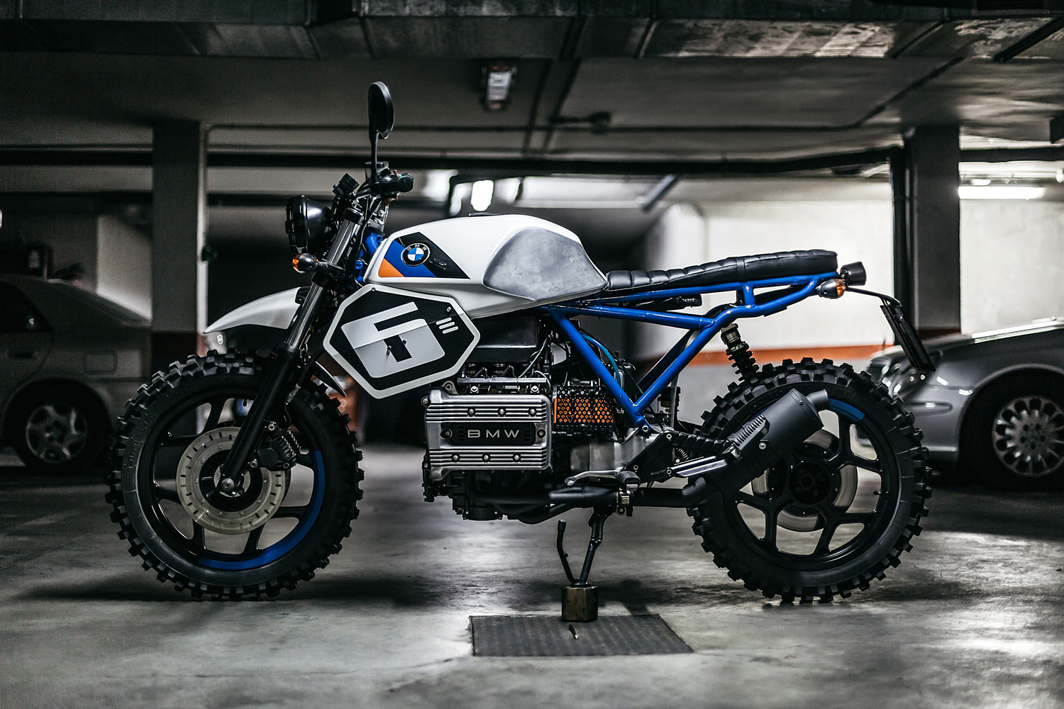 bmw k75 street tracker the foundry mc. Black Bedroom Furniture Sets. Home Design Ideas
