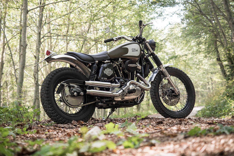 Scrhead Harley Davidson Scrambler Officine Rossopuro