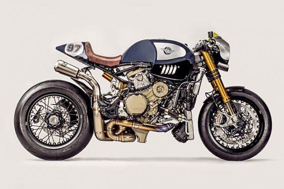 'The Blue Shark' Ducati Panigale R Cafe Racer – Ducati Zentralschweiz & Parts World