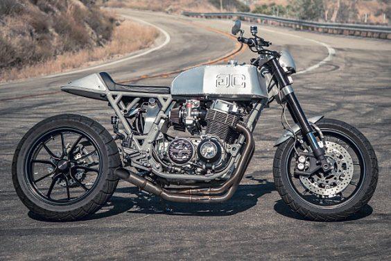 'Ol' Red' '78 Honda CB750F Streetfighter – Gasser Customs