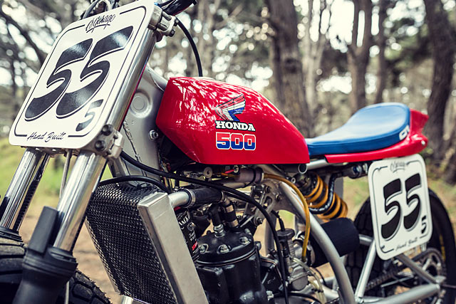No 55 Honda Cr500 Tracker Adam Hedges Amp Earnest Co