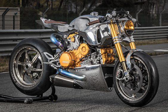 Ducati 1199 S Panigale Racer – Ortolani Customs