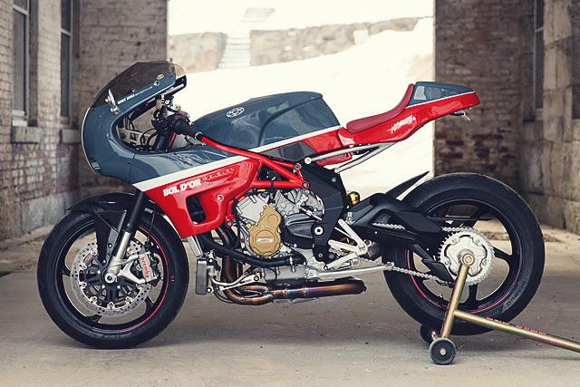 Roman S Bol D Or Mv Agusta F3 Racer Walt Siegl Motorcycles