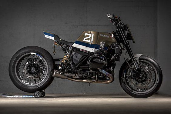 'Eddie 21'BMW R1200R Racer – VTR Customs