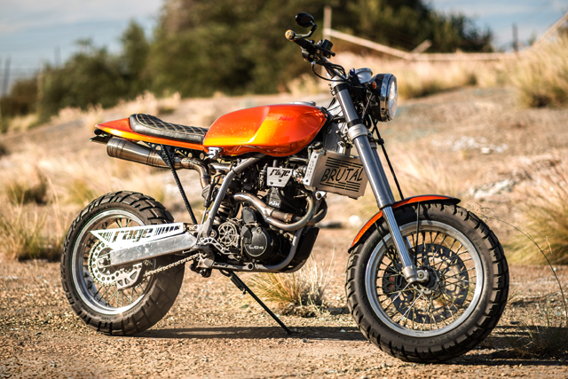 RAGE Motorcycles Aka Rough As Guts Engineering Is A Small Operation In Perths North With Three Pretty Solid Builds To Date Cafed 79 Yamaha RX125
